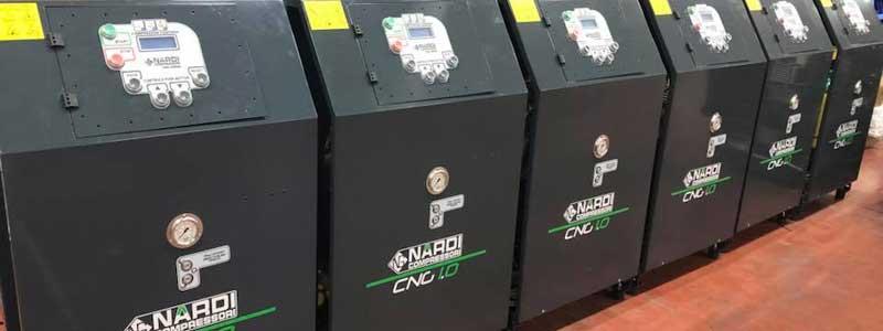 Revendeurs des compresseurs GNV Nardi Compressori