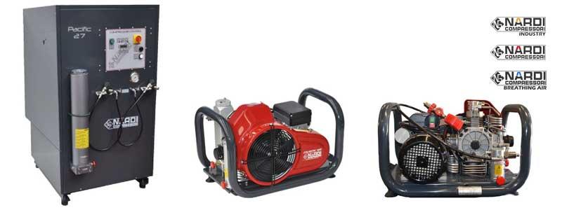 Revendeurs compresseurs haute pression Nardi Compressori