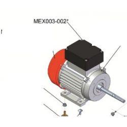 ref: MEX003-002 Couvercle de condensateur pour narguilé