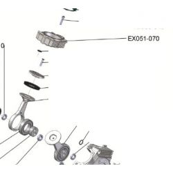 Cylindre Extrême 70 course longue