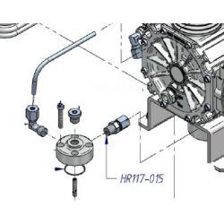 Raccord ¼ pour refroisseur diam 8 mm HR117-015