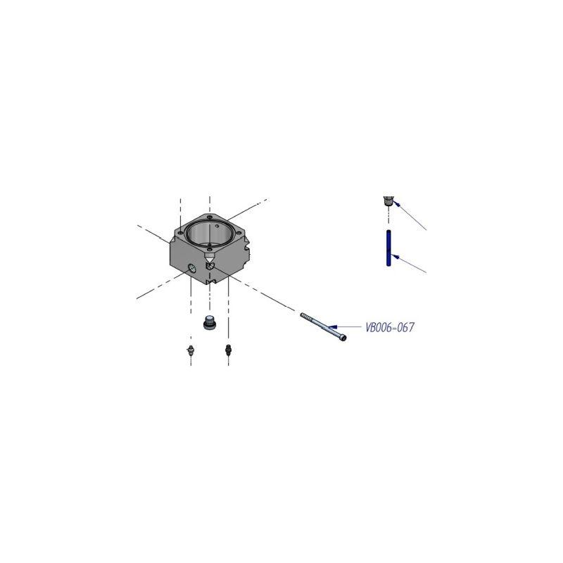 Boulon de compresseur HP ref: VB006-067