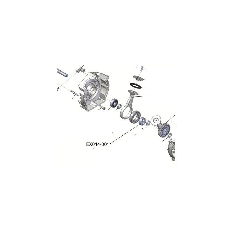 Douille d'arbre ref: EX014-001 pour narguilé - plongée, travaux de peinture, ponçage
