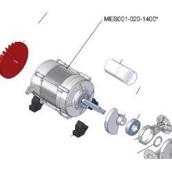 Moteur électrique 0,7 cv 230 volts pour compresseur