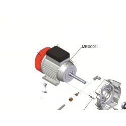 Moteur électrique 2 cv 230 volt 50 Hz 1400 tr/mn