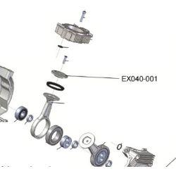 Tête de piston EX040-001