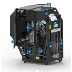 Compresseur 36 m3 Nitrox/Trimix