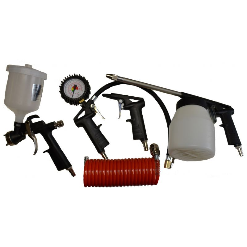 Kit d'accessoires air comprimé outillage de compresseur