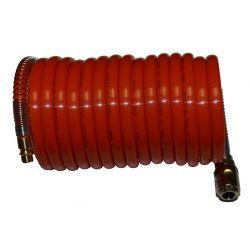 Tuyau spirale air comprimé Polyamide 5 mètres