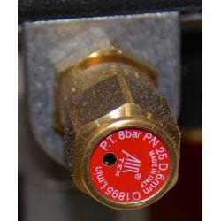 Soupape de sécurité pour compresseur dentaire