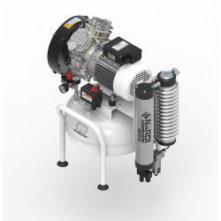Compresseur dentaire Nardi compressori sans huile 2D 2 CV, cuve de 25 litres