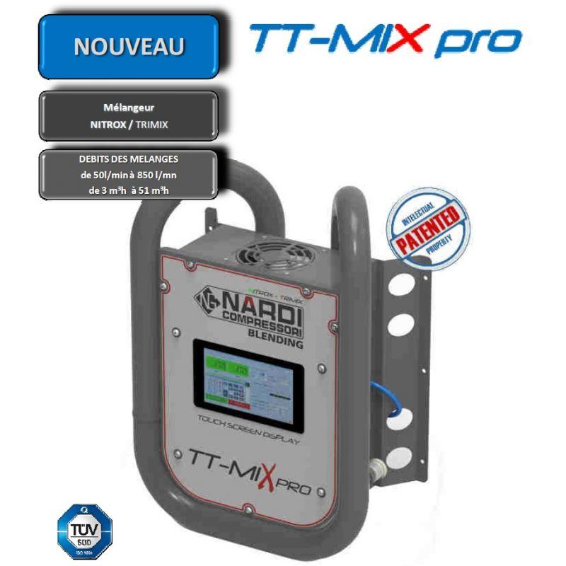Mélangeur Nitrox et Trimix   TT-MIX PRO