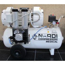 Compresseur dentaire 4D 90 litres 3 CV