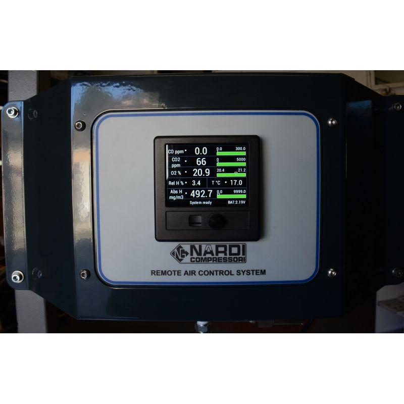 NACS, système d'analyse de l'air