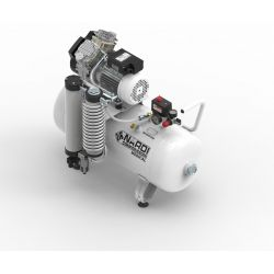 Compresseur dentaire 3D 2 CV, cuve de 50 litres