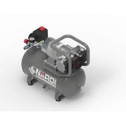 Compresseur Esprit 3 12/24 volts 225 l/mn, cuve de 15 L