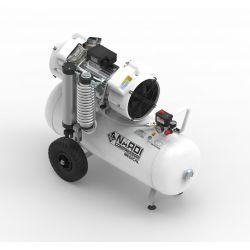 Compresseur dentaire Nardi air sec 4D 90 litres 2,5 CV