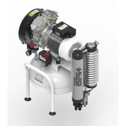 Compresseur dentaire 2D 1,5 CV, 25 litres OCCASION