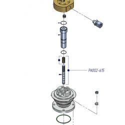 Piston 14 mm avec segments