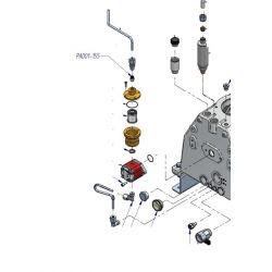 Clapet anti retour de pompe à huile