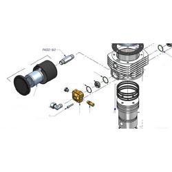Raccord pour filtre à air Pacific PA002-160