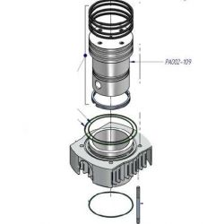 piston PA002-109