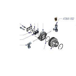 Raccord en T ¼ pour tube diam 10 mm AT068-002