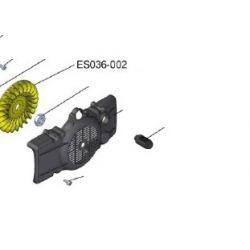 Ventilateur jaune pour compresseur