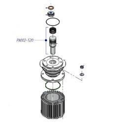 piston complet avec segments