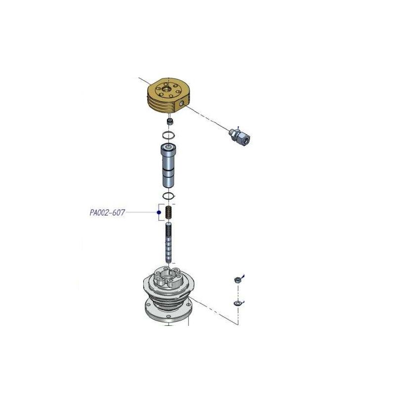 Jeu de segment PA002-607 pour compresseur HP