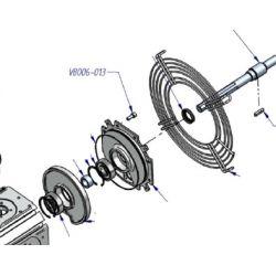 Boulon ref: VB006-013 pour compresseur haute pression