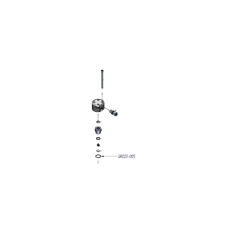 Joint torique compresseur haute pression ref: OR020-005