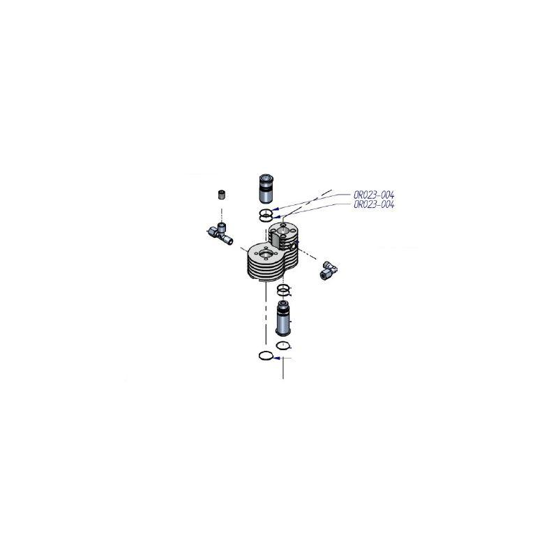 Joint torique de compresseur HP ref OR023-004 pièce détaché