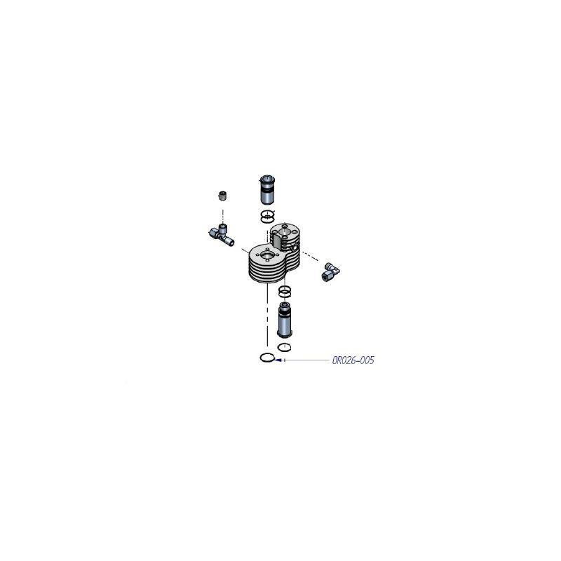 Joint torique pour compresseur haute pression ref: OR026-005