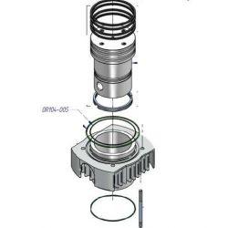 Joint torique OR104-005