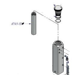 Cartouche filtrante HP de compresseur Atlantic thermique