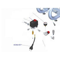 Cable avec prise électrique
