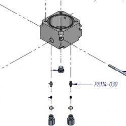 Piston HP de compresseur ref: PA114-030