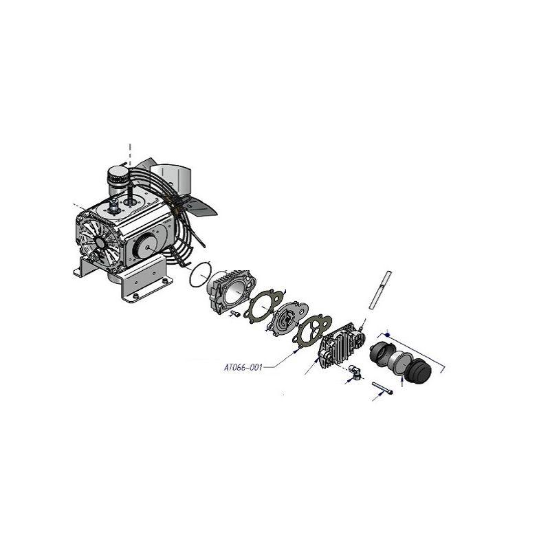 Joint de culasse supérieur Nardi Compresseur ref: AT066-001