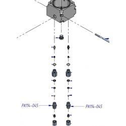 Raccord Inox de purge automatique  pour les compresseurs de la série Pacific Nardi