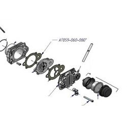 Joint de culasse 1° étage de compresseur haute pression