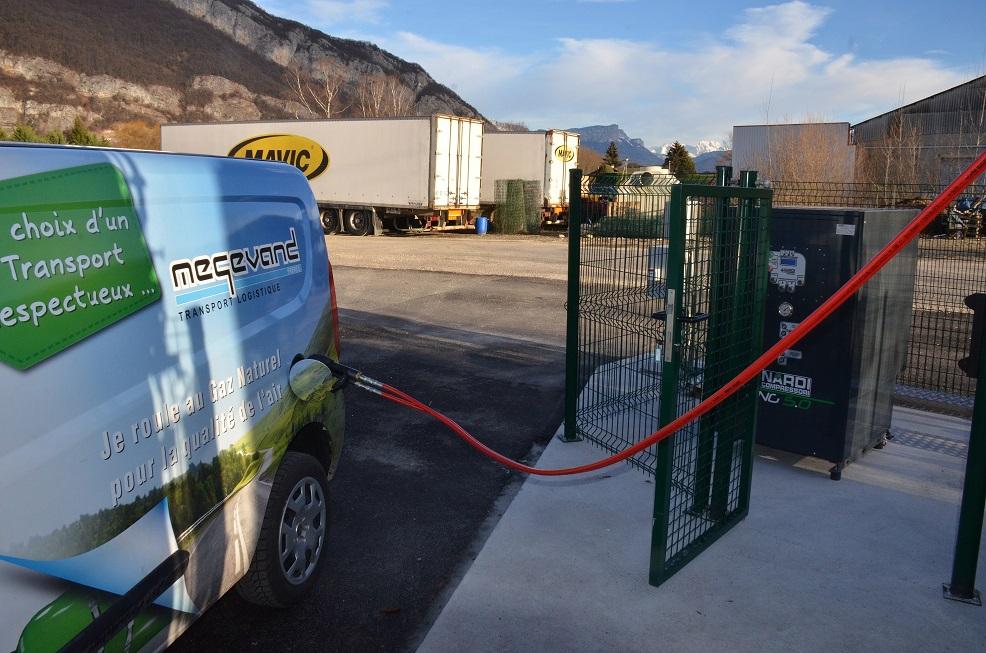 Installation de compresseurs GNV 5 Nardi Compressori à Annecy chez Megevand
